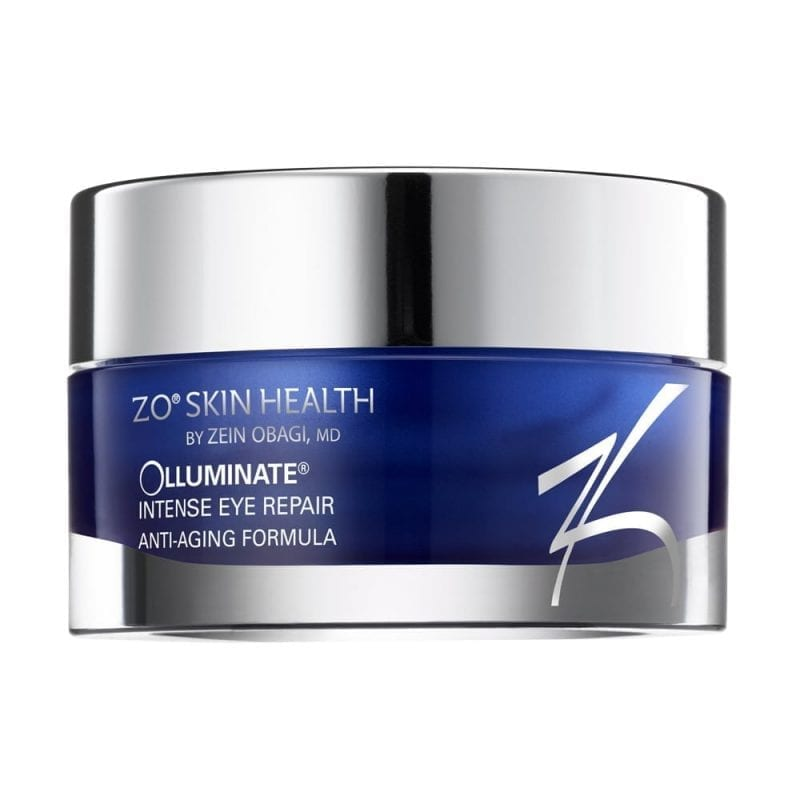 olluminate intense eye repair is een oogcreme van zo skinhealth