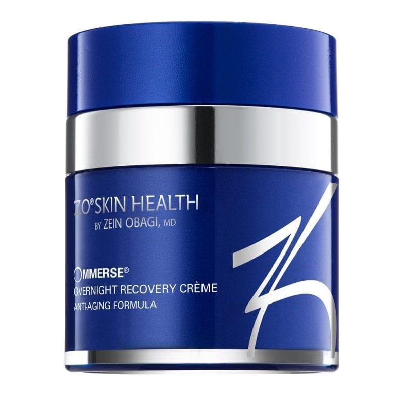 OMMERSE Overnight Recovery Creme zorgt voor een diepe hydratatie en kalmeert en verzacht de huid