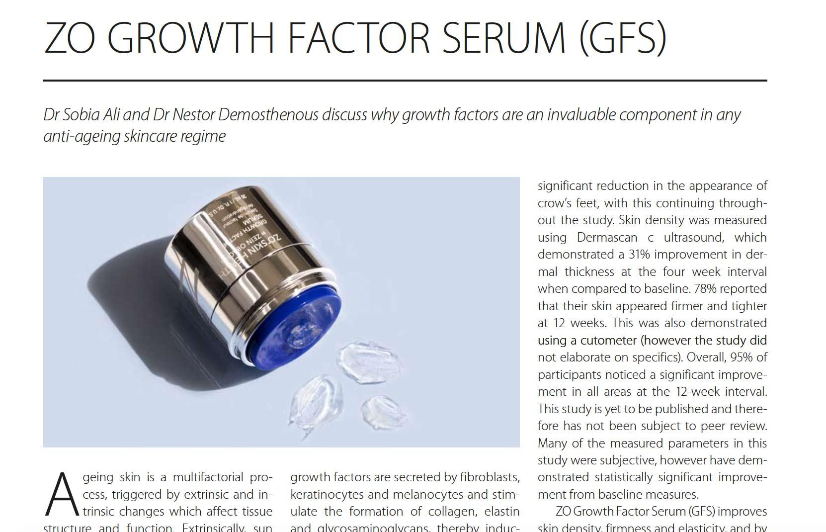 growth factor serum onderzoek